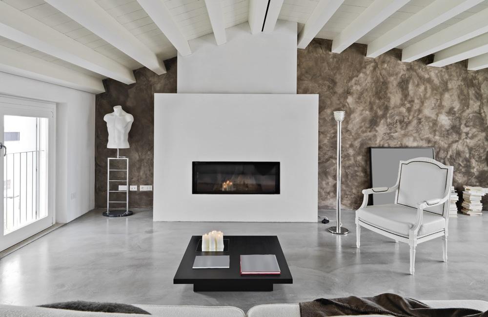 Betonvloer in de woonkamer: Inspiratie u0026 realisaties
