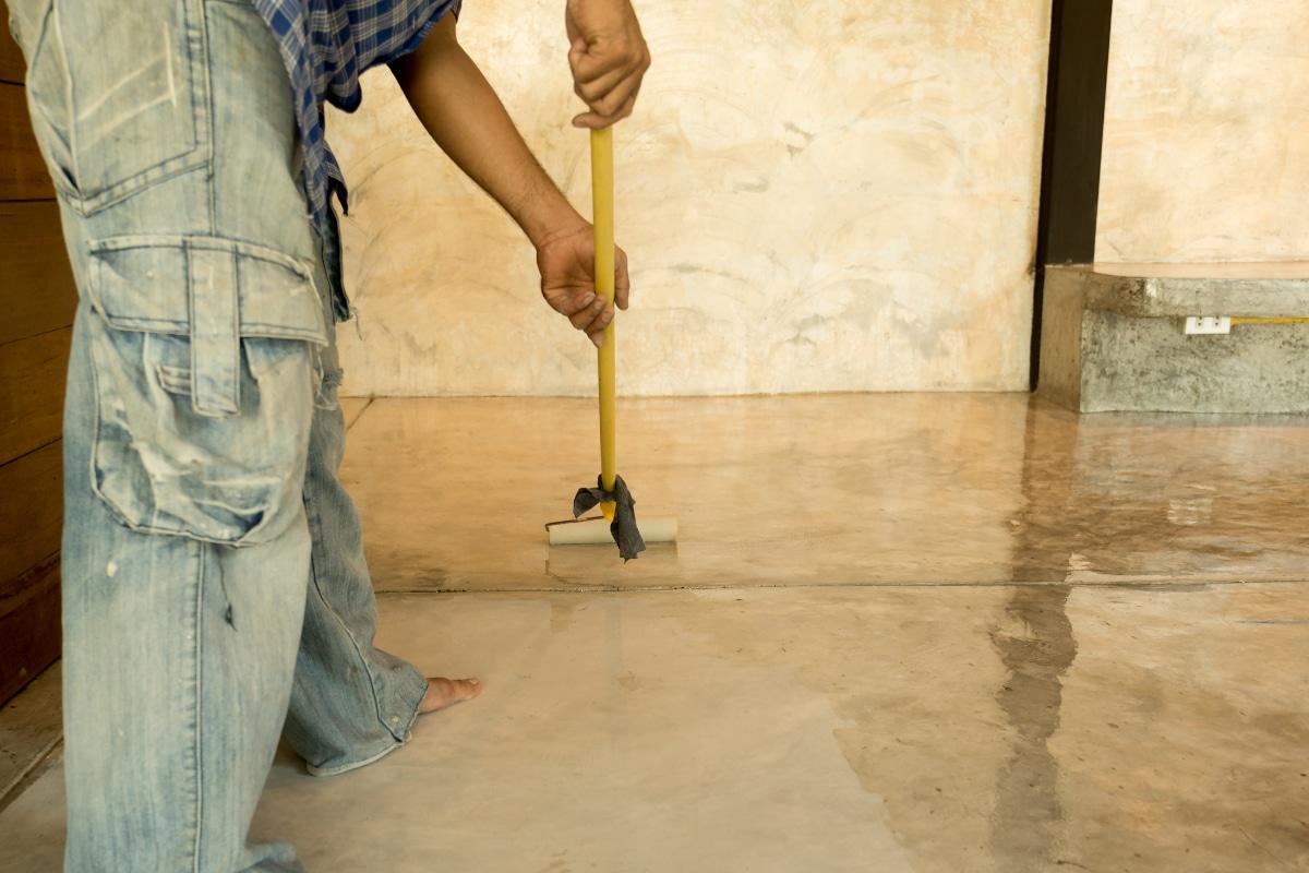 beton impregneren curing verwijderen