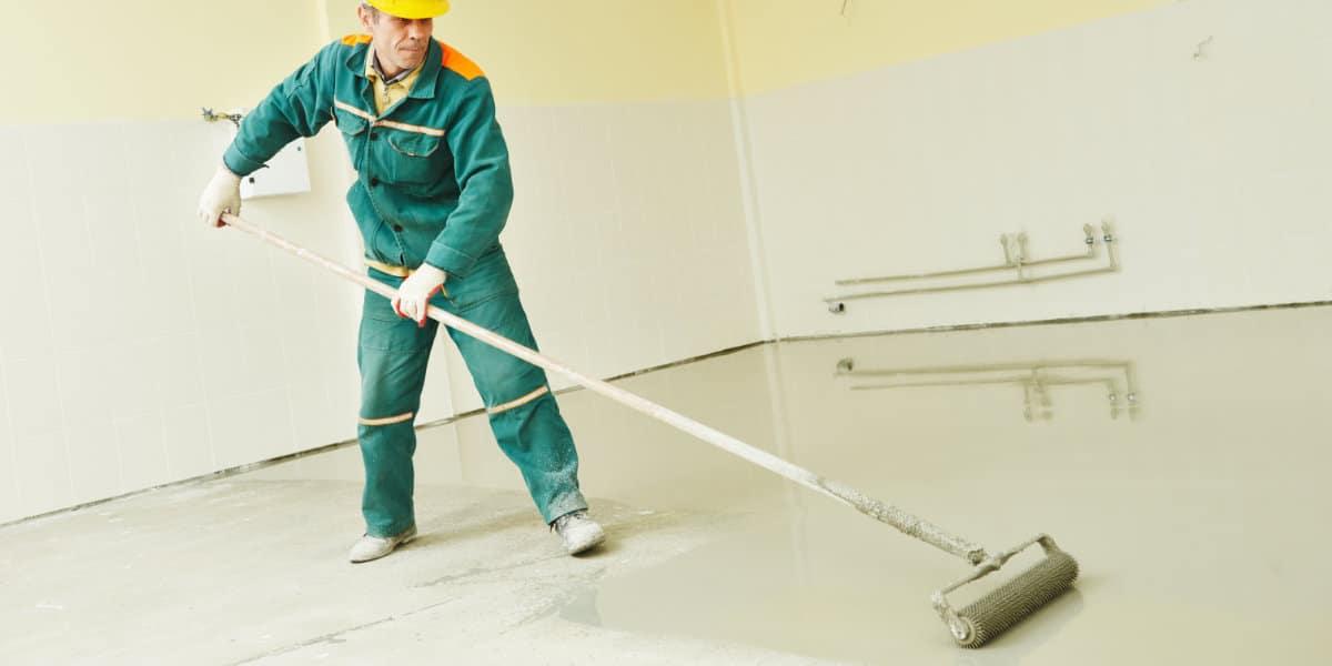 betonvloer schilderen