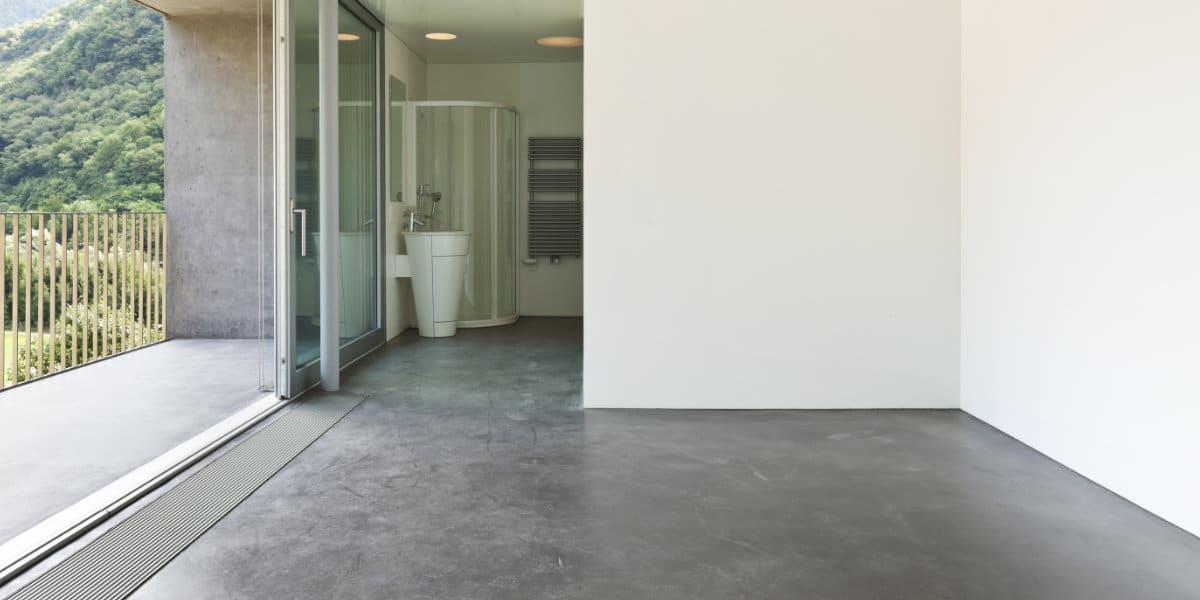 dikte betonvloer vloerverwarming
