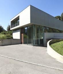 geborstelde betonvloer voorbeeld