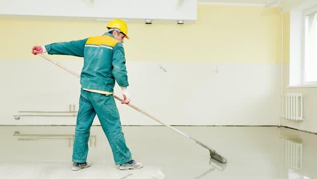 stappenplan verven betonvloer