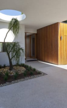 uitgewassen beton oprit